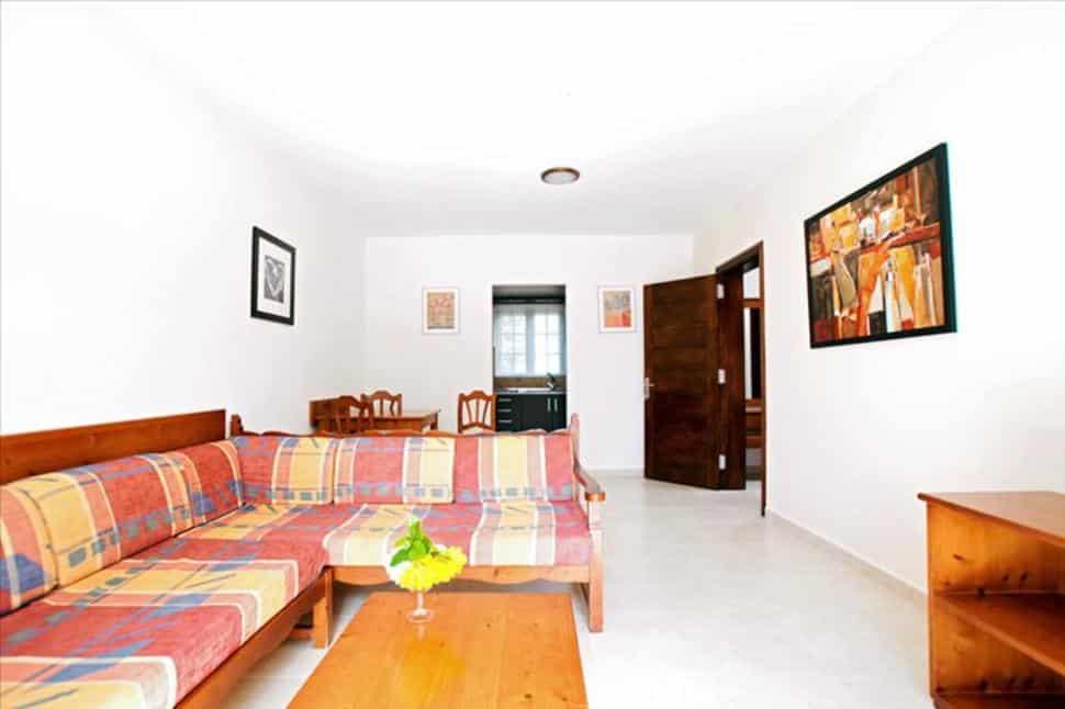 Binnenzijde bungalow van HL Hotel Rio Playa Blanca op Lanzarote