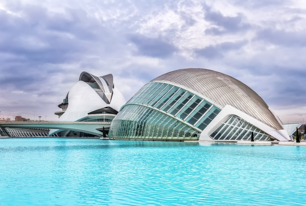 City of Arts and Sciences in Valencië, Spanje