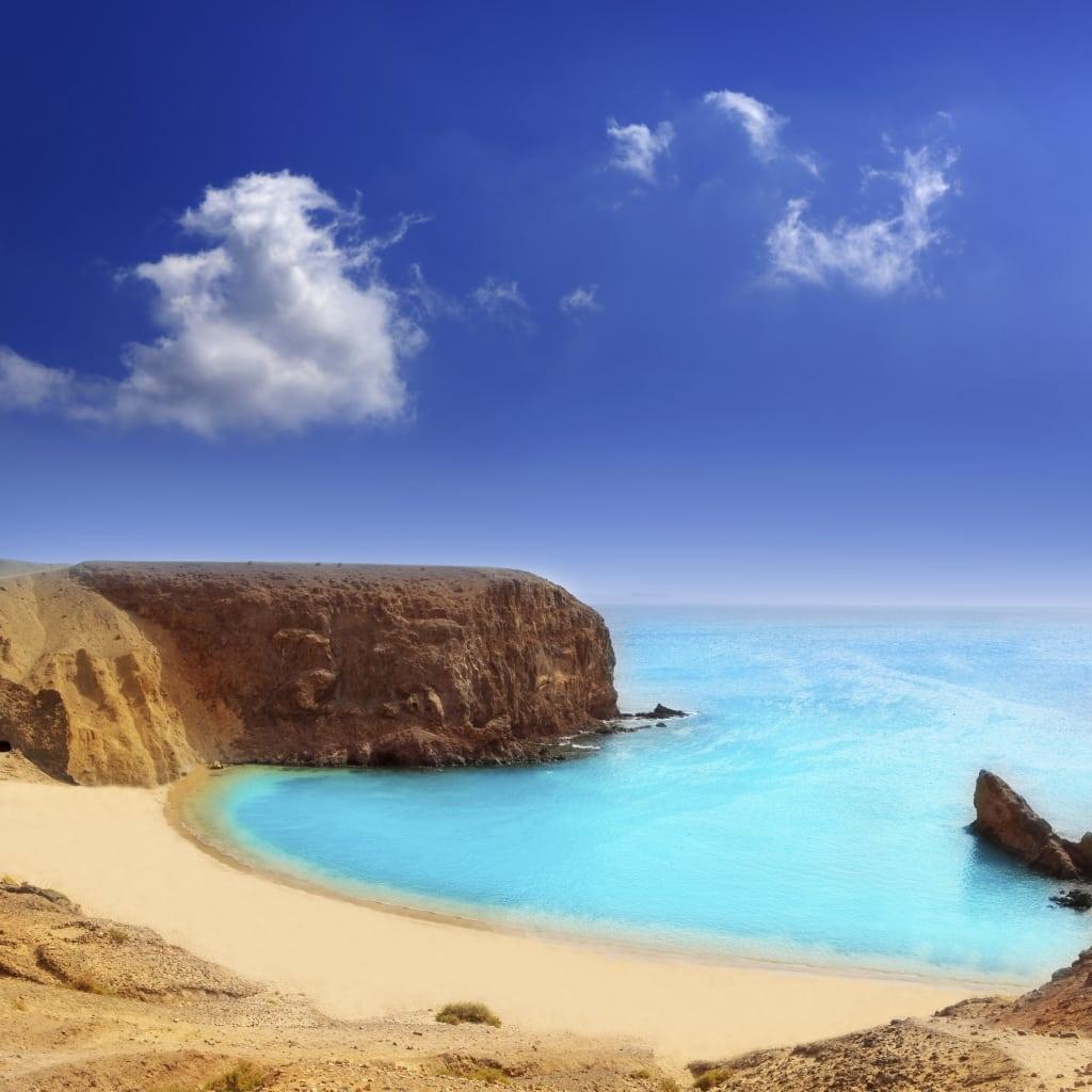 El Papagayo Playa Beach op Lanzarote