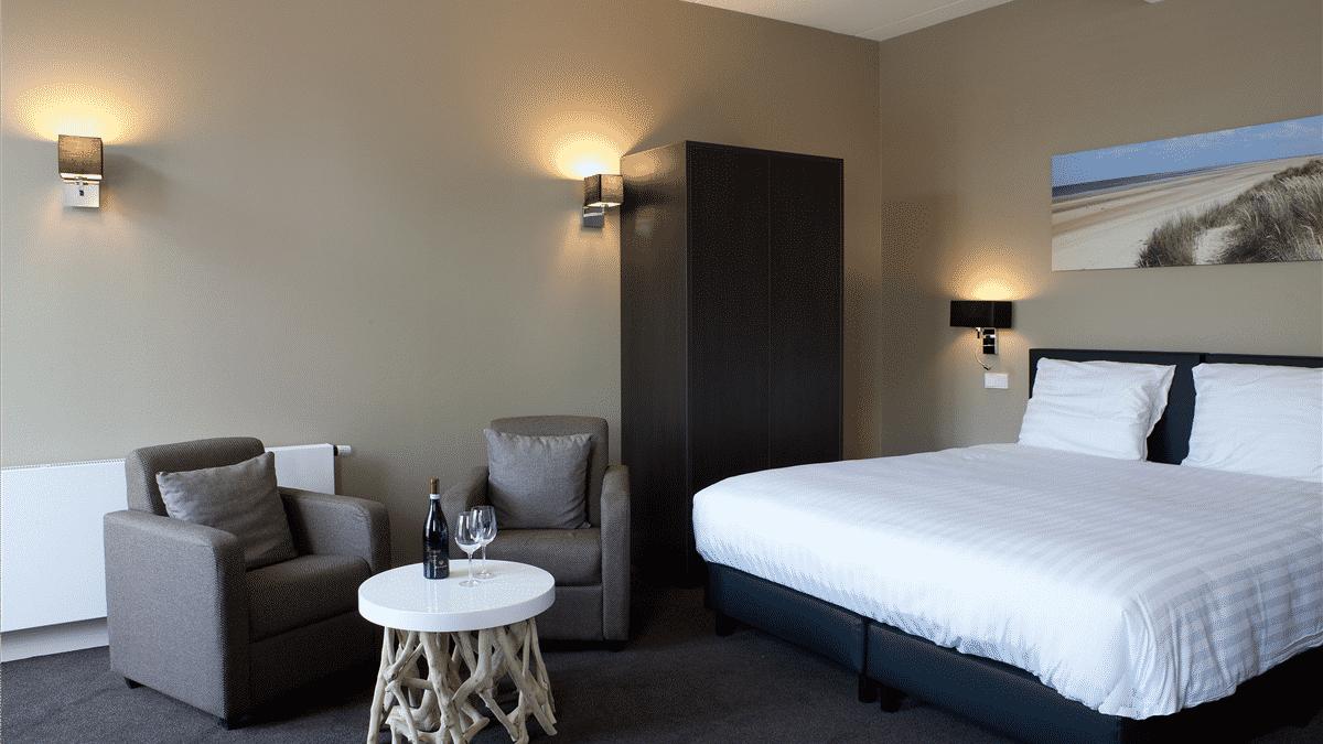 Hotelkamer van Fletcher Hotel