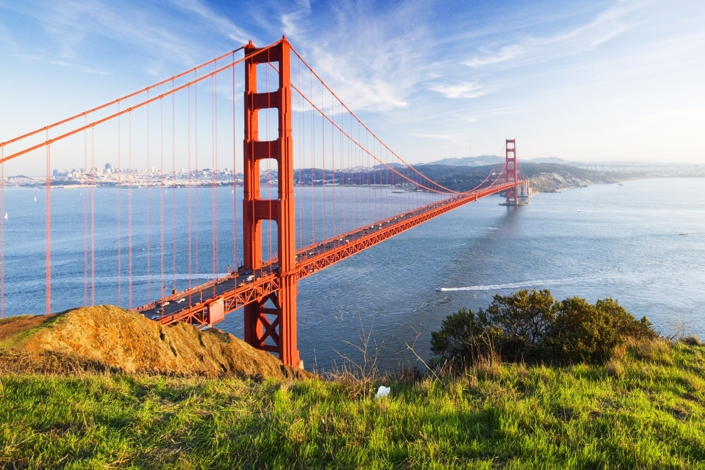 Golden Gate Bridge in San Francisco, Amerika