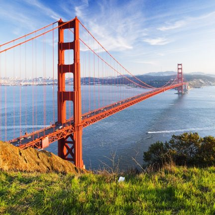 Golden Gate Bridge in San Francisco, Amerika