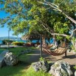 Hangmatten in Hotel Casa Marina Reef in Sosua, Dominicaanse Republiek