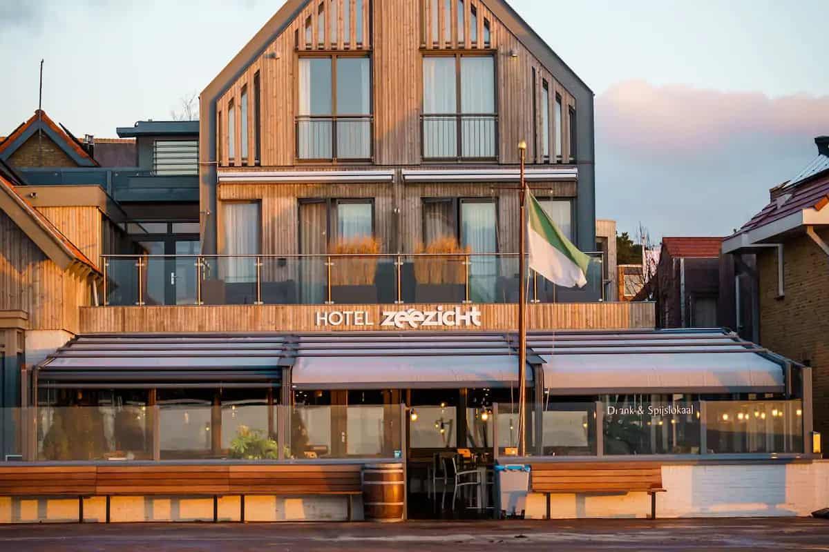Hotel Zeezicht Vlieland op Vlieland