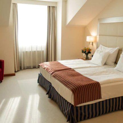 Hotelkamer van Design Hotel Merrion in Praag, Tsjechië