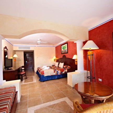 Hotelkamer van Grand Bahia Principe Coba in Tulum, Mexico