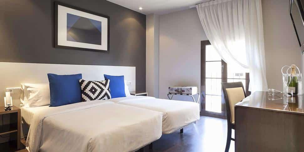 Hotelkamer van Hotel Acta BCN 40 in Barcelona, Spanje