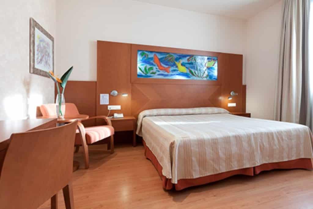 Hotelkamer van Hotel Checkin Valencië, Spanje