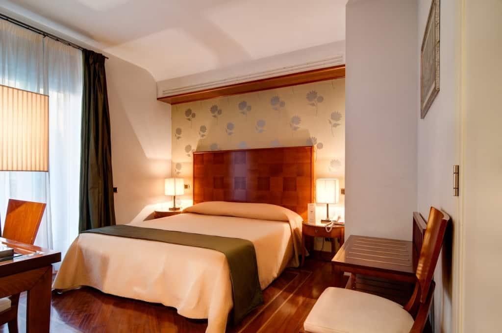 Hotelkamer van Hotel Delle Nazioni in Florence, Italië