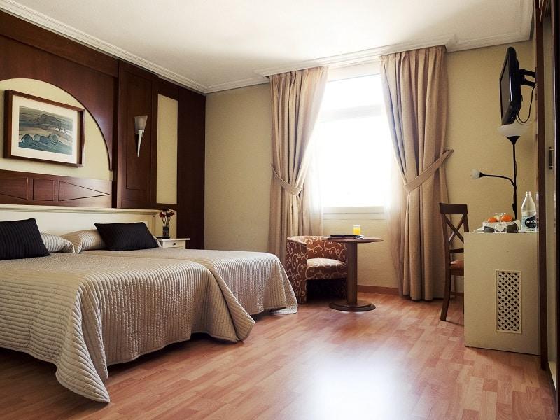 Hotelkamer van Hotel Pasarela in Sevilla, Spanje