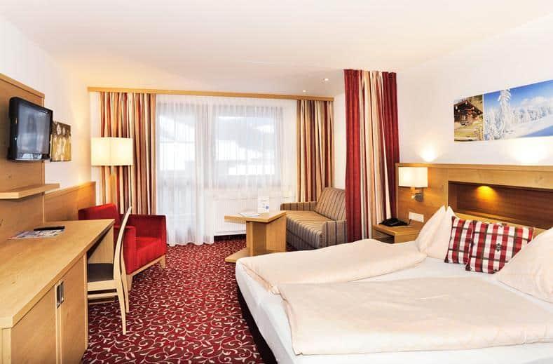 Hotelkamer van Hotel Pongauerhof in Flachua, Oostenrijk