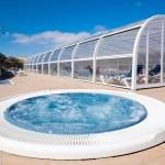 Jacuzzi en zwembad van Hotel Royal Suite in Costa Calma, Fuerteventura