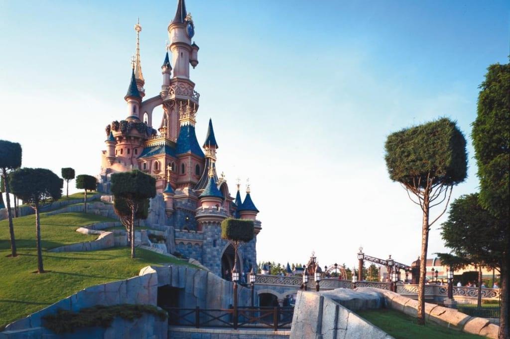 Kasteel in Disneyland Paris