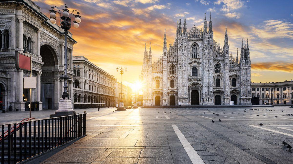 Kathedraal in Milaan, Italië