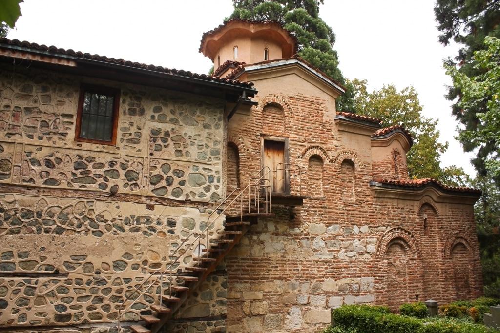 Kerk van Bojana in Sofia, Bulgarije
