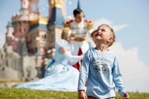 Kind in Disneyland Paris