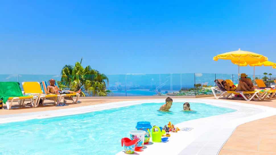 Kinderzwembad in Hotel Riosol in Puerto Rico, Gran Canaria