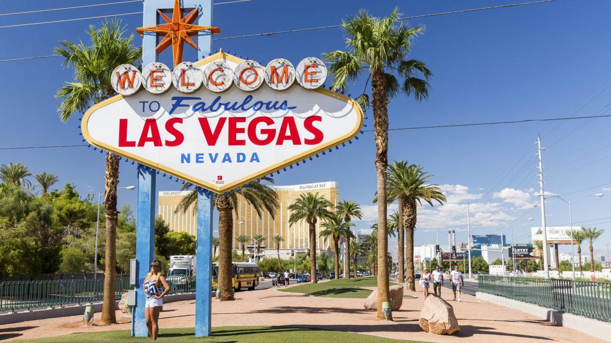 Welkomstbord van Las Vegas