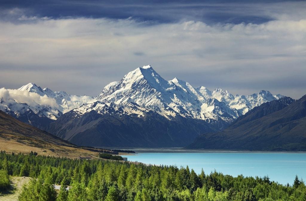 Mount Cook in Nieuw-Zeeland