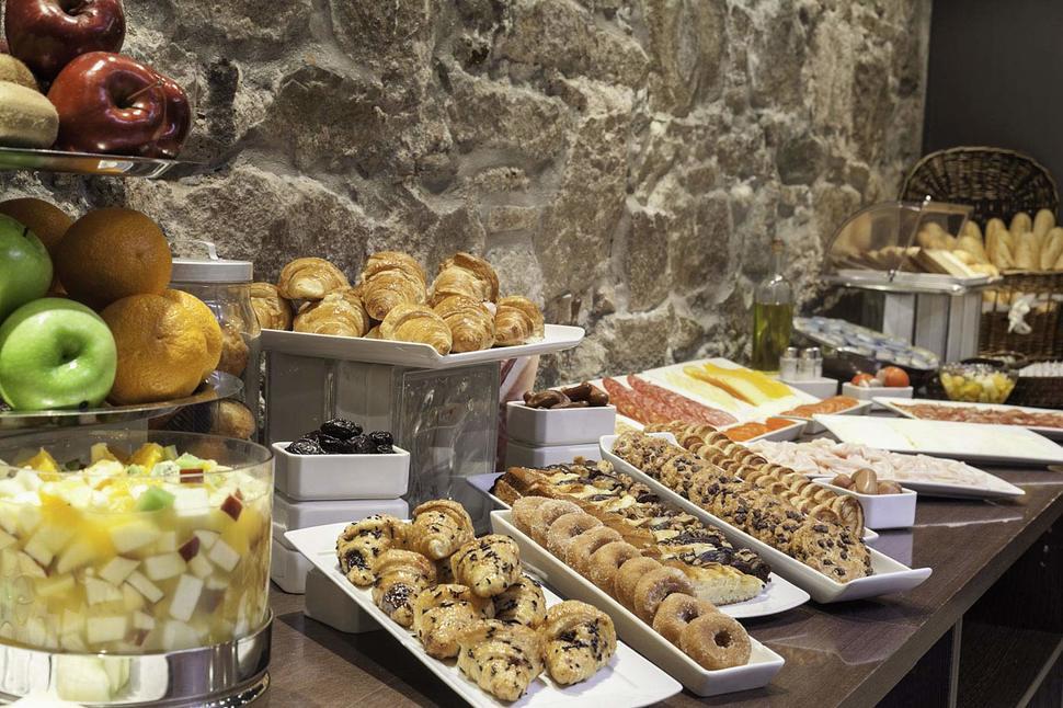 Ontbijt van Hotel Acta BCN 40 in Barcelona, Spanje