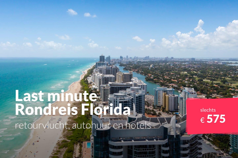 Rondreis Florida Retourvlucht Autohuur En Hotels Voor