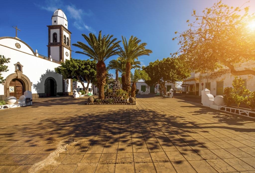 San Gines kerk op Lanzarote