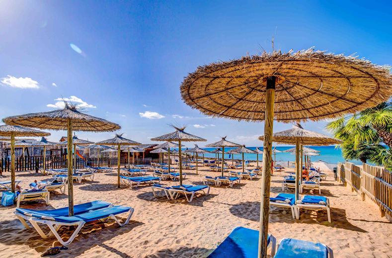 Strand van Costa Calma Beach Resort in Costa Calma, Fuerteventura