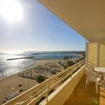Uitzicht vanuit Appartementencomplex Stella Maris Fuengirola in Spanje