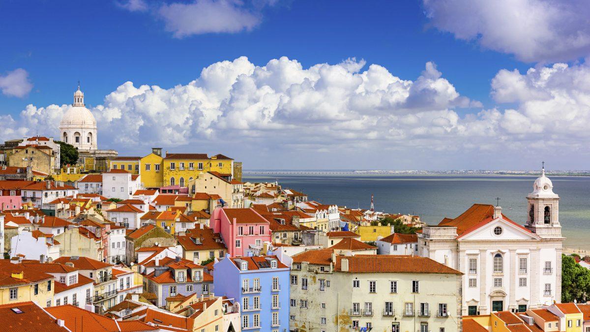 uitzicht lissabon portugal