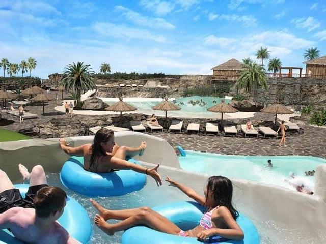 Waterpark van Origo Mare Village Club in Lajares, Fuerteventura