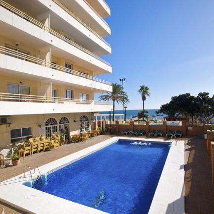 Zwembad van Appartementencomplex Stella Maris Fuengirola in Spanje
