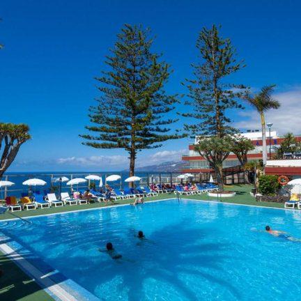 Zwembad van Best Semiramis in Puerto de la Cruz, Tenerife