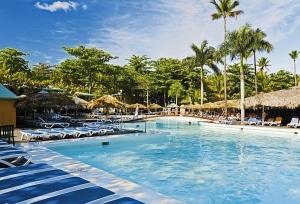 Zwembad van ClubHotel RIU Merengue in Puerto Plata, Dominicaanse Republiek
