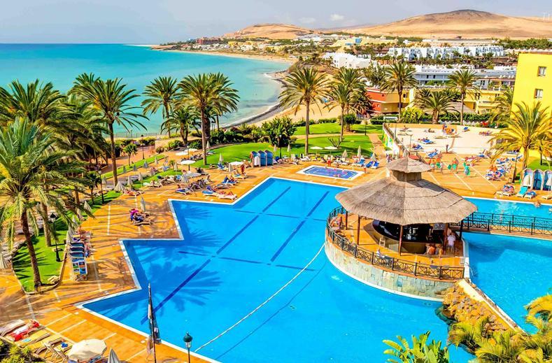 Zwembad van Costa Calma Beach Resort in Costa Calma, Fuerteventura