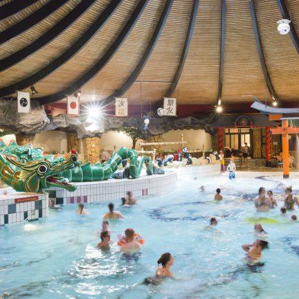 Zwembad van De Bonte Wever in Assen, Drenthe