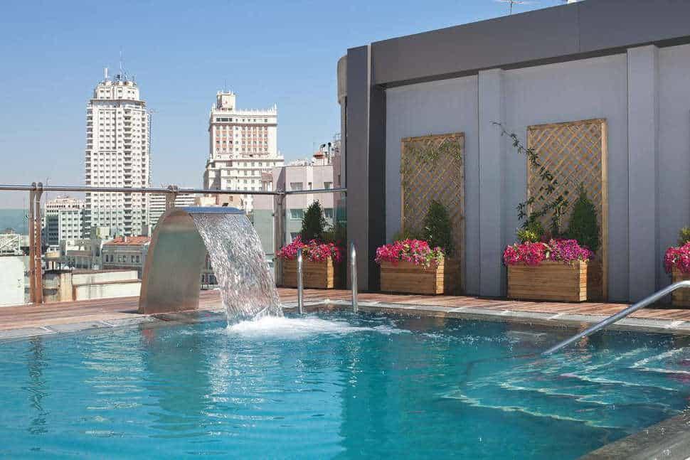 Zwembad van Hotel Santo Domingo