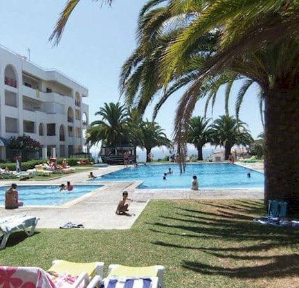 Terrace Club in Armacao de Pera, Algarve, Portugal