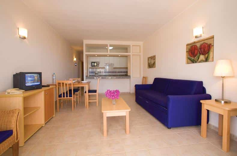 Appartement van Hotel Cinco Plazas in Puerto del Carmen, Lanzarote