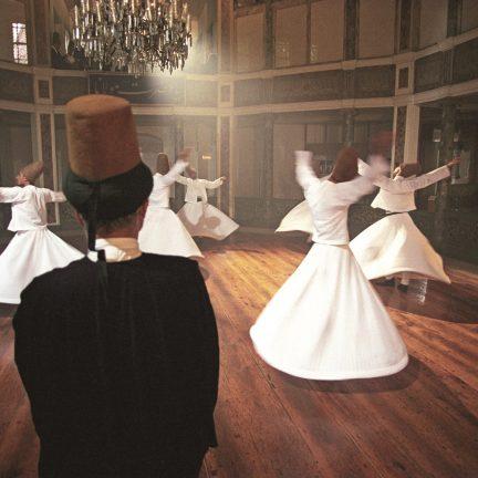 Dansende Derwisjen in Cappadocië, Turkije