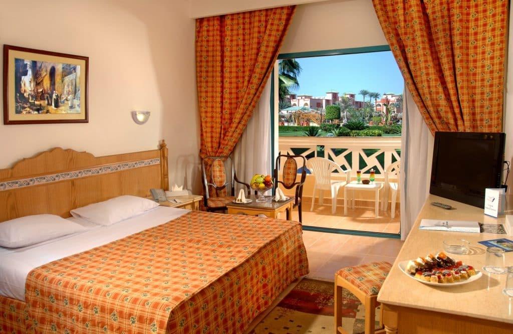 Hotelkamer van Albatros Aqua Park Resort in Hurghada, Egypte