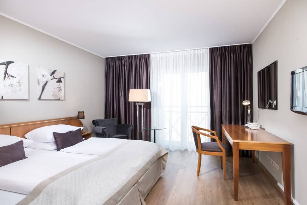 Hotelkamer van Hannover Atrium Hotel in Hannover, Duitsland