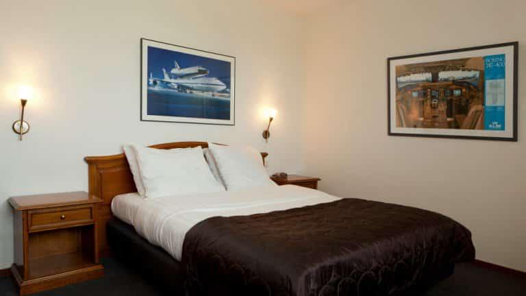 Hotelkamer in Hotel de Druiventros in Berkel-Enschot, Noord-Brabant