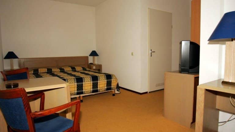 Hotelkamer van Hotel de Potkachel in Berg en Terblijt, Limburg