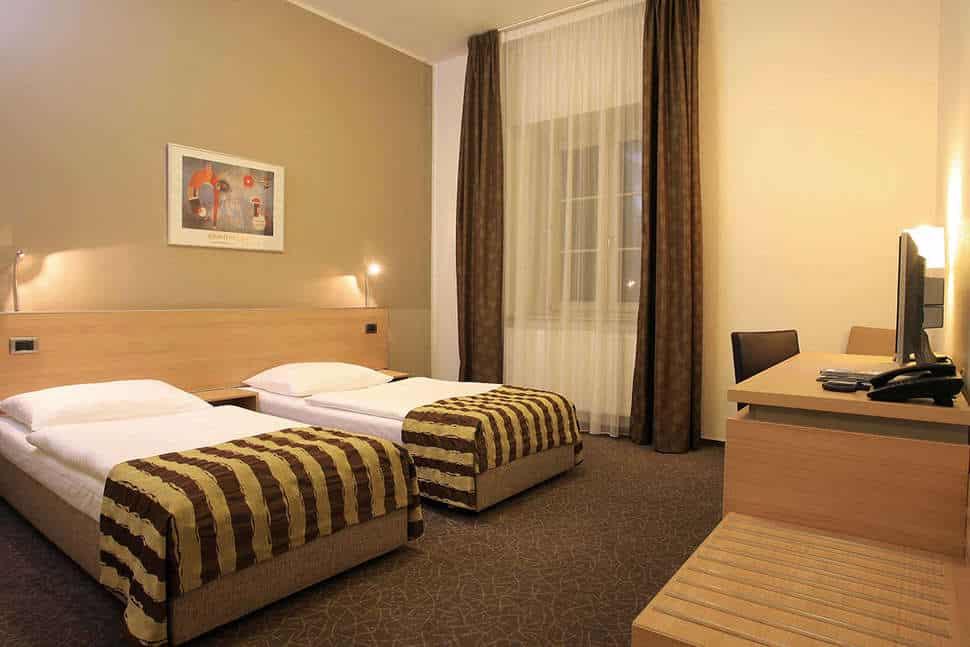 Hotelkamer van Hotel Pav in Praag, Tsjechië