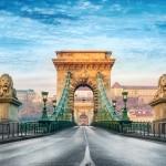 kettingbrug in boedapest hongarije