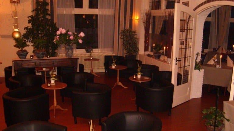 Lounge van Hotel de Potkachel in Berg en Terblijt, Limburg
