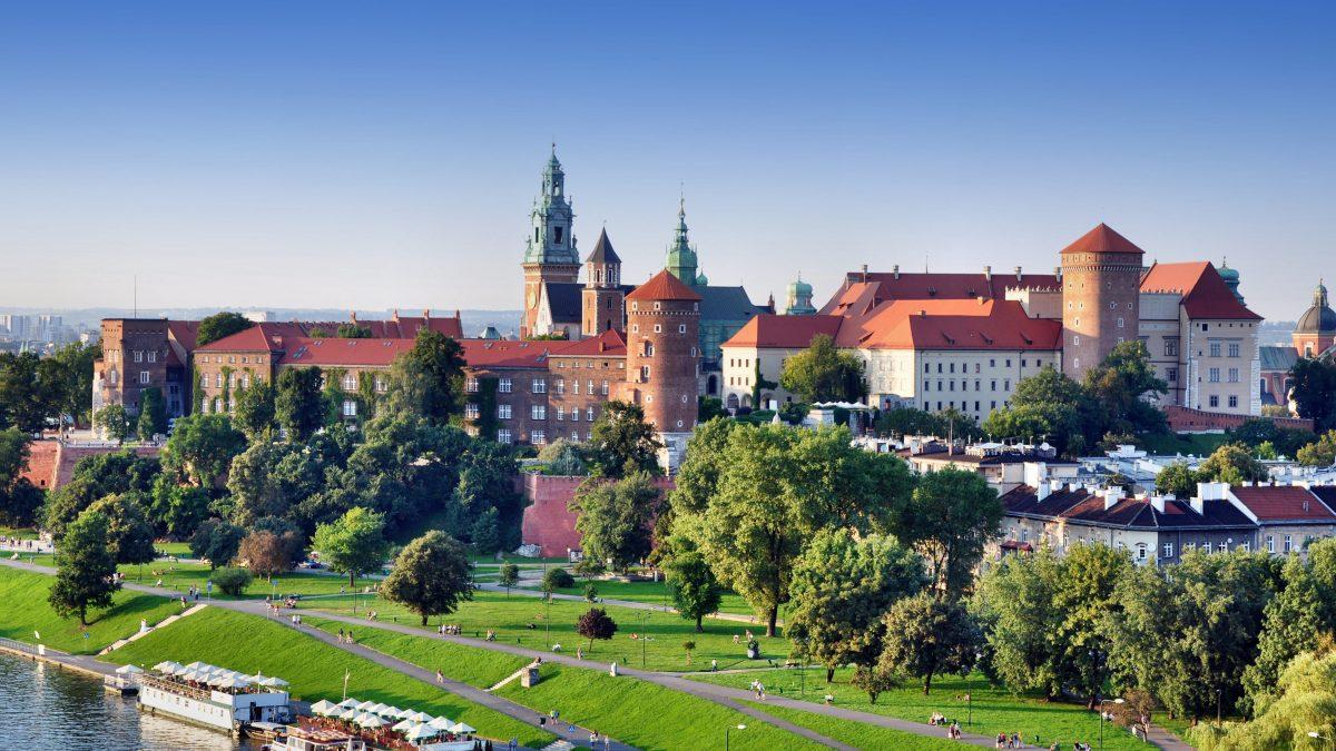 Oude stadscentrum van Krakau, Polen