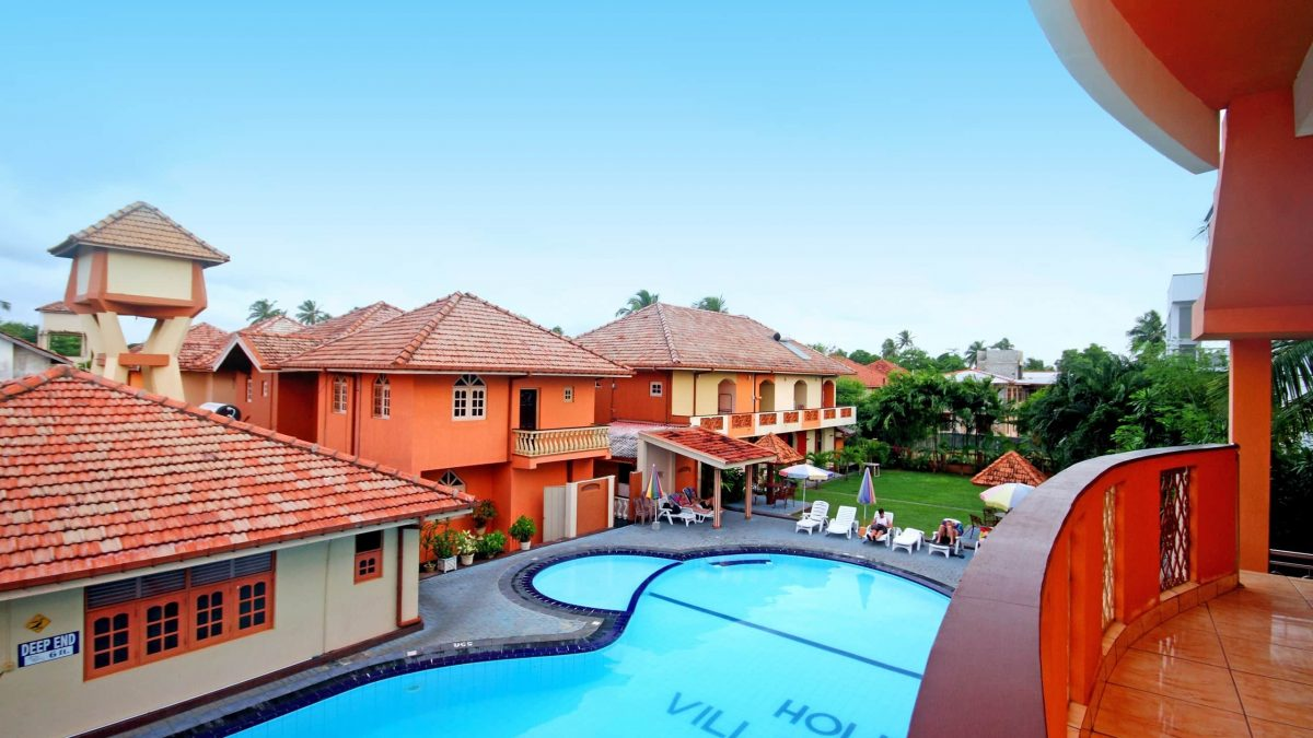 Paradise Holiday Village in Negombo, Sri Lanka