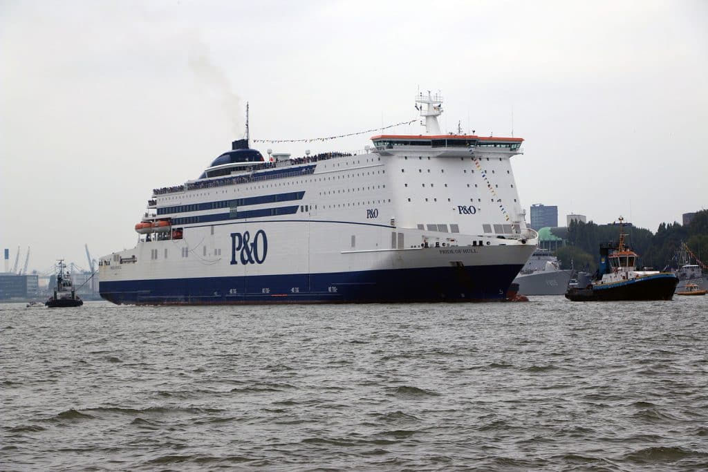 P&O Ferries Pride of Hull