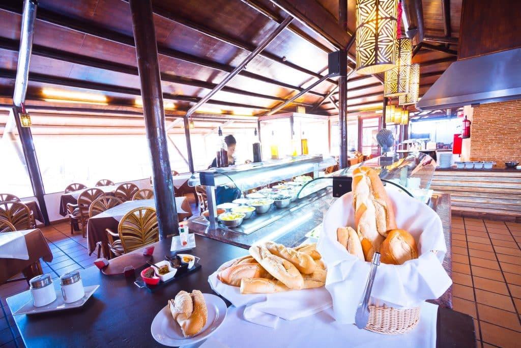 Restaurant van Hotel Arena Suite in Corralejo, Fuerteventura
